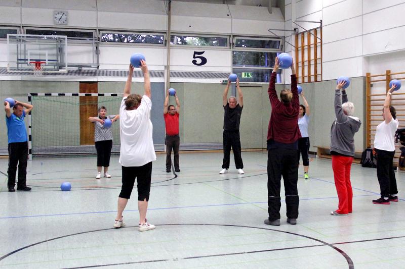 Beispielfoto: Sanfte Gymnastik