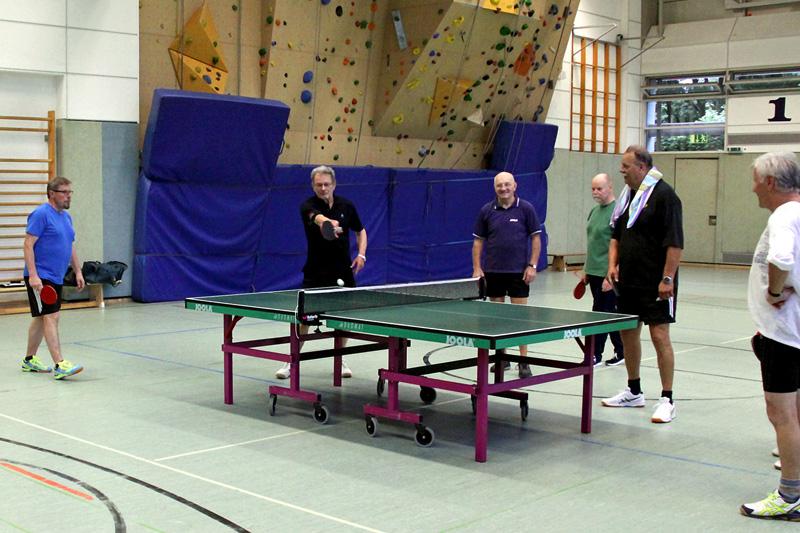 Beispielfoto: Tischtennis-Hobbymannschaft
